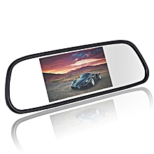 NX - 5HD 5 inch High-definition Car Rear View Monitor LCD Digital Display - Black