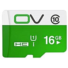 OV 16GB 32GB  MicroSD MicroSDHC Micro SD SDHC Card  Memory Card Green