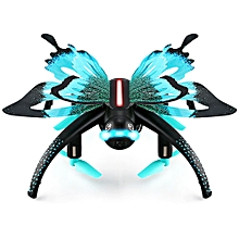 H42WH Butterfly Mini RC Drone RTF WiFi FPV 0.3MP Camera / Voice Control / Waypoints - Oasis