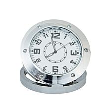 X42 Portable Clock - HD Nanny Camera - Silver