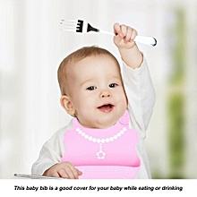 Soft Comfortable Waterproof Silicone Baby Bib Kids Feeding Lunch Eating Apron Tool