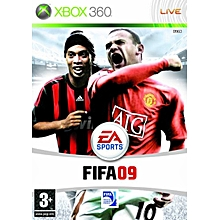 XBOX 360 Game Fifa 09