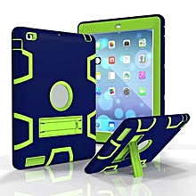 Shockproof Rugged Three-Layer Defender Cases Cover With Stand For iPad mini 1 2 3 HSL-G