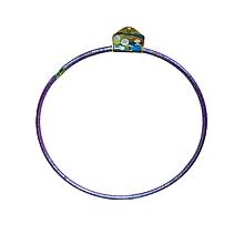 SB08201 - Hula Hoop – 83Cm – Brown