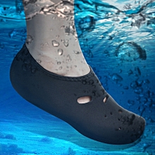 Comfortable And Anti-slip 3mm Swimming Diving Socks Breathable Water To Swim The Beach Socks Size:xl (40-43)(black)