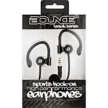 Break Series Hook-On Earphones - Black