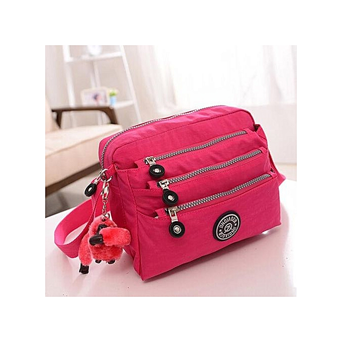 c24b8d7e420c Xingbiaocao Women Waterproof Oxford Tote Messenger Handbag Ladies Hobo  Shoulder Bag HOT -Hot Pink