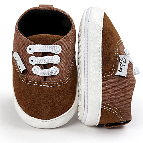5f019378bf8 Generic Baby Girl Boys Canvas Shoe Casual Shoes Sneaker Anti-slip Soft Sole  Toddler- Coffee
