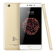 V7 2GB+16GB Fingerprint Identification 5.0 Inch Android 6.0 MTK6735 Quad Core Up To 1.5GHz Dual SIM 4G Smartphone(Gold)