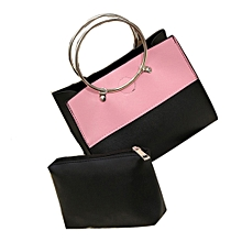 singedan Women Bag Top Handle Bags Fashion Women Messenger Bags Handbag Leather Bag PK -Pink