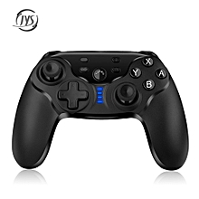 JYS Bluetooth Gamepad Wireless Controller with Vibration / Screenshot Function for Nintendo Switch-BLACK