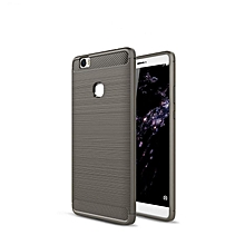 KZ Carbon Fiber Shock Absorption Scratch Resistant Back Cover Flexible TPU Rubber Soft Silicone Full Body Protective Case Cover for Huawei Honor Note 8  XYX-S