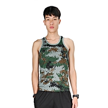 M/L/XL Fashion Military Men's Vest Camouflage Tank Muscle Top Tight Army