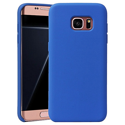 new styles 134d7 fa6b7 Galaxy S7 Case,Soft Rubber Silicone TPU Ultra-Thin Durable Smart Phone Case  for Samsung Galaxy S7/G930F 5.1