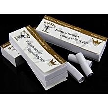 5* White Hemp Paper Filter tips