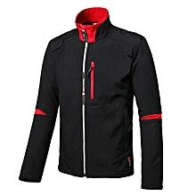 Mens Fleece Outdoor Hiking Climbing Fishing Waterproof Windproof Soft Jacket Coat