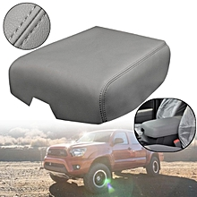 PU Leather Center Console Lid Armrest Cover For Tundra 2007-2013