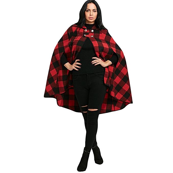 Hooded Cape Coat Pattern