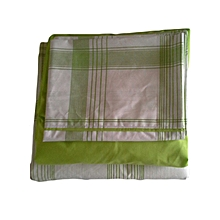 Duvet Cover Set - 5 x 6 Lime Green Geometric Lines- 4 pieces