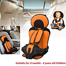 0~6 And 6~12 year old kids Safe Seat Portable Baby Safety Seat Children's Chairs Thickening Sponge Kids Child Car Seats 2 Size