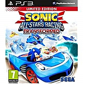 PS3 Game Sonic All Stars Racing Transformed Limited Edition
