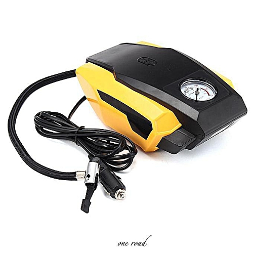 Vehicle Electric Vehicle Portable Air Compressor Wheel Tire Pneumatic Pump  Tool 12 V 19 Cylinder