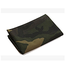 Outdoor Multi-purpose camo towel 160x45cm jungle Camouflage