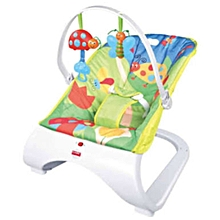 I baby comfort seat bouncer and soother
