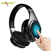 Zealot B21 Wireless Foldable Headset HiFi Stereo Bluetooth Over-The-Ear Headphones With Touch Control Microphone For Phone MP3 BDZ Mall