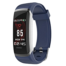 GT101 Smart Bracelet Color Screen Waterproof Blood Pressure Heart Rate Monitor blue