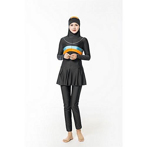 67b68e0f8fb6e Fashion Muslimah High Quality Muslim Women Swimwear Islamic Swimsuit For Women  Hijab Swimwear Coverage Conservative Swimwear Muslim Beachwear Swim Suit ...