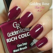 Rich Color Nail Lacquer - 28 - 10.5ml