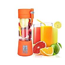 Portable Blender Juicer Cup / Electric Fruit Mixer-Orange