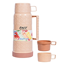 Stylish and Affordable Thermos Flask  1.8Litres  - Brown