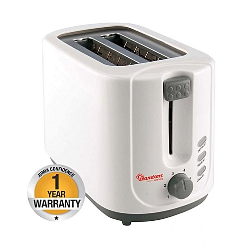 RM/448-2 Slice Bread Toaster - White