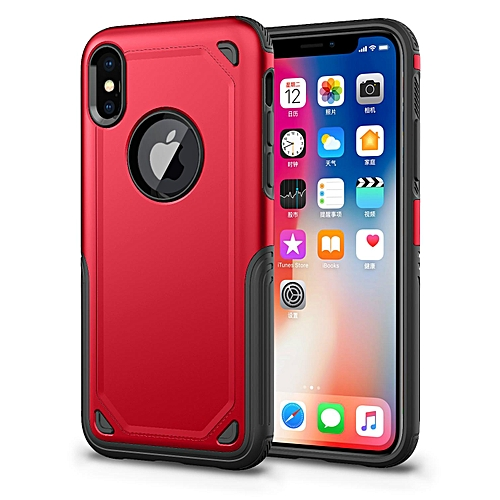 reputable site 9d540 533bc Case For for iphone X Slim Heavy Duty Drop Resistant Protection Dual Layer  Armor Cover Secure Grip Cell Phone Case For for iphone X