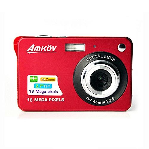 HD Digital Camera Video Camcorder (Red)
