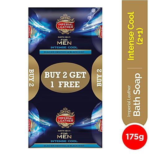 For Men 2+1 Value Pack Buy 2 Bath Bars, get 1 Free