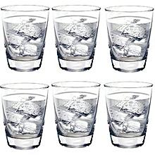 Tiara 13Oz Tumbler Set of 6 Pcs Drinking Glasses
