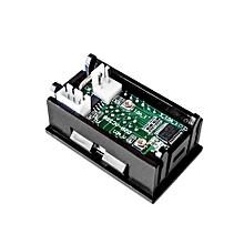 Bacbity DC100V 10A Digital Voltmeter Ammeter Dual Display Voltage Detector Meter Tester