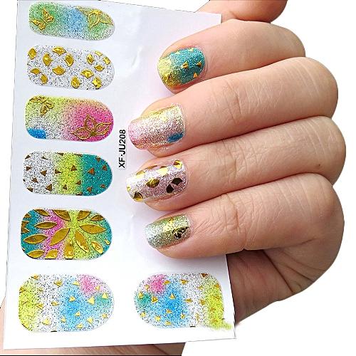 Buy Neworldline Womens Diy Nail Sticker Water Transfer Stickers