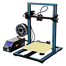 Creality 3D® CR-10 Blue DIY 3D Printer Kit 300*300*400mm Printing Size 1.75mm 0.4mm Nozzle EU PLUG