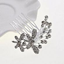Boutique Bridal Wedding Flower Hair Comb Hair Pins Bridal Accessories