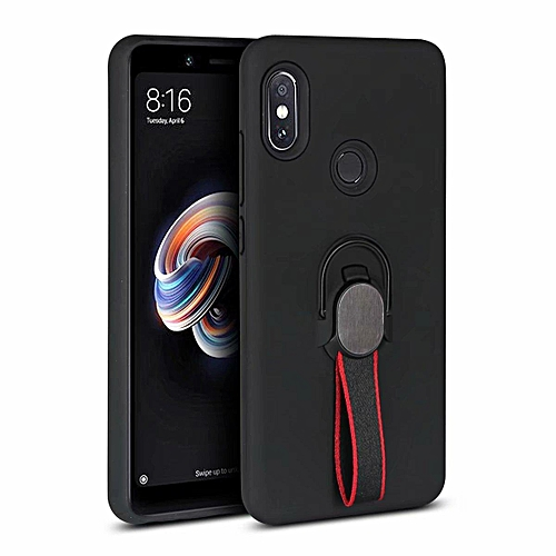 cheap for discount d9056 7fab1 Phone Case For Xiaomi Redmi Note 5 Pro , Luxury Magnetic Armor Silicone  Case Cover Metal Ring Hard Case Phone Casing For Xiaomi Redmi Note 5 Pro