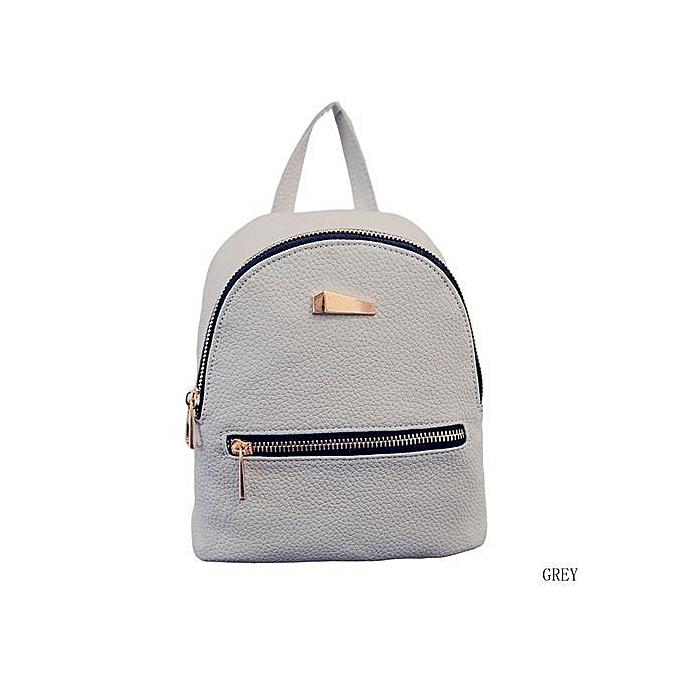 1df5677521 New Fashion Small Rucksack Women Shopping Purse Ladies Joker Bookbag Travel  Bag Student School Backpacks Mini