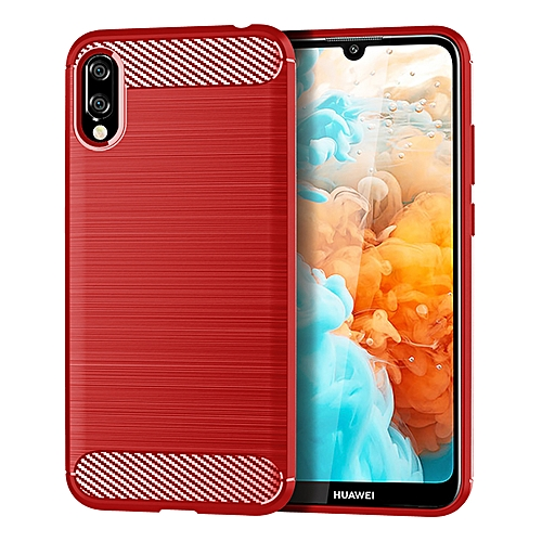 new products 02a16 54dd5 HUAWEI Y6 2019 Case Cover, Rugged case,Soft TPU material