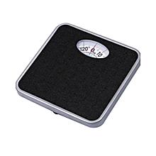 Bathroom Scales - 125kg - Black