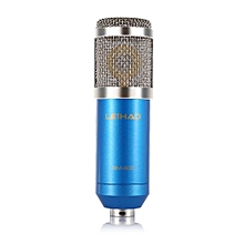 BM - 800 Professional Condenser Microphone For Studio Broadcasting Recording-Blue