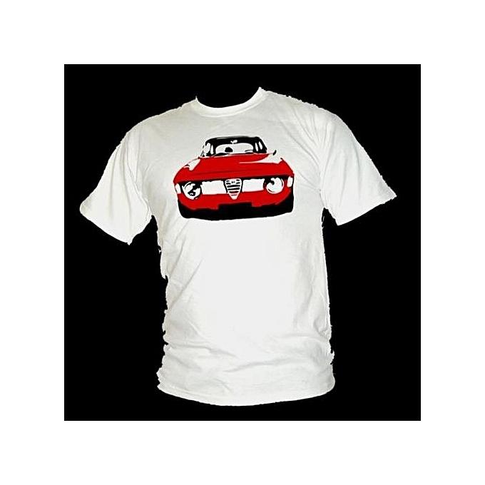 067f088dd54 Fashion Alfa Romeo Giulia Legendary Road Racer Classic Men s T-Shirt ...