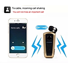 Hiamok_  F910 FineBlue Wireless Bluetooth Vibrating Alert Clip Headset Earphone